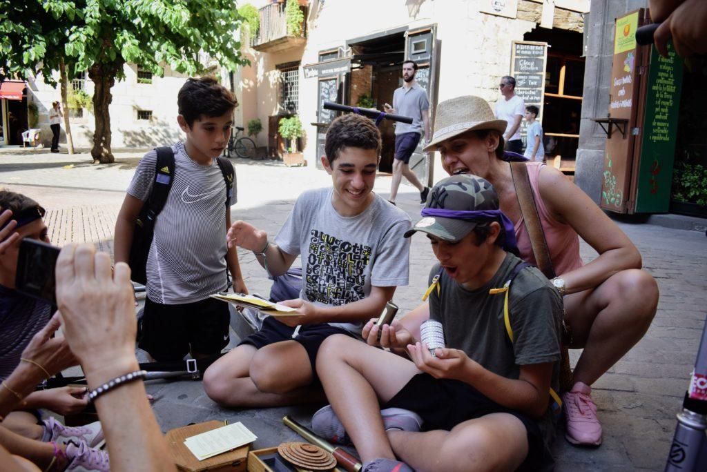 Children in Barcelona