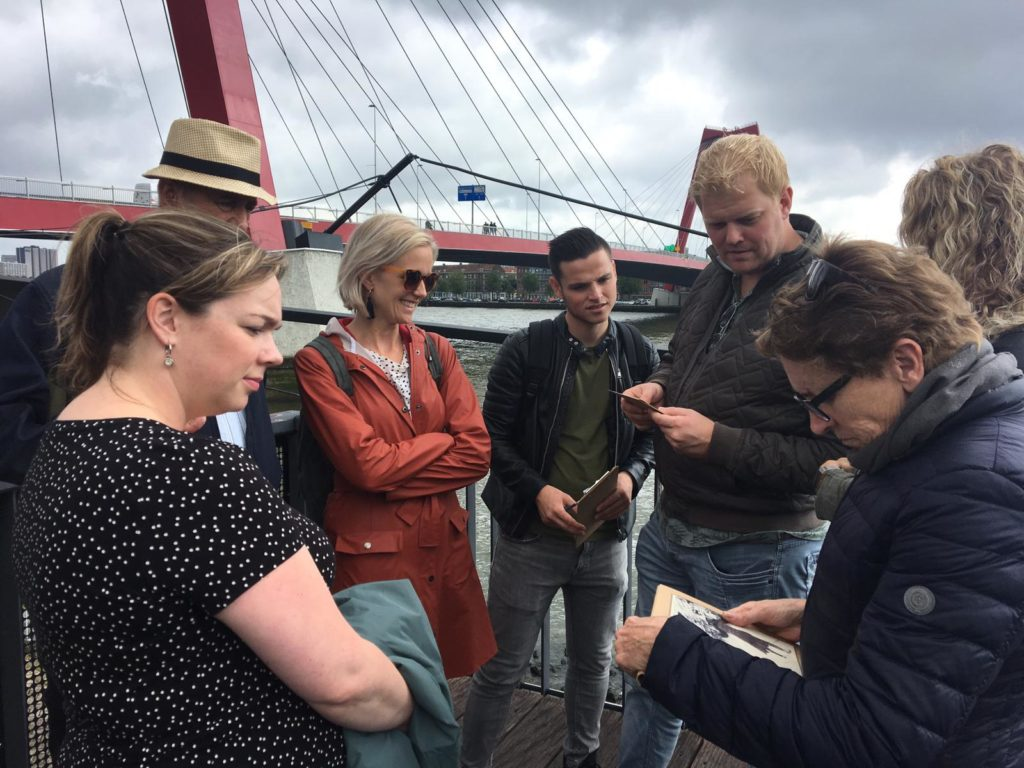 Treasure hunt Rotterdam teambuilding activity