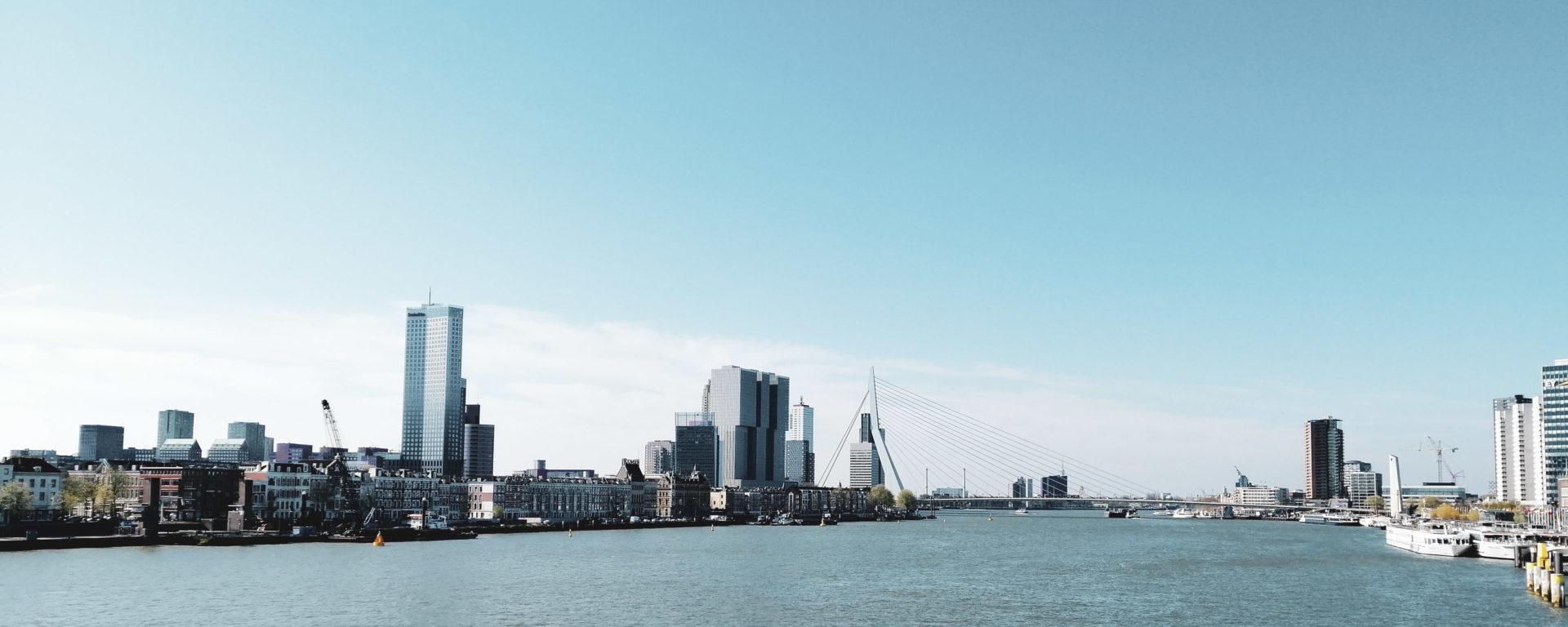 Rotterdam maas skyline Xventura teambuilding Header