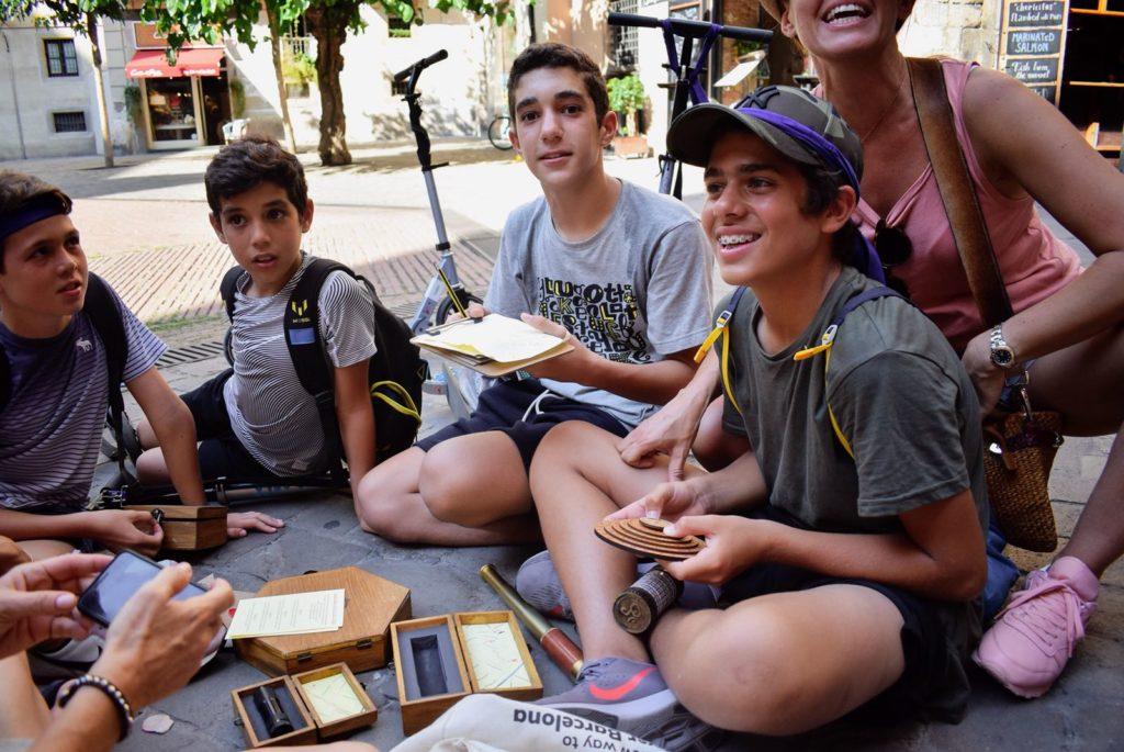 Speurtocht Barcelona voor kinderen
