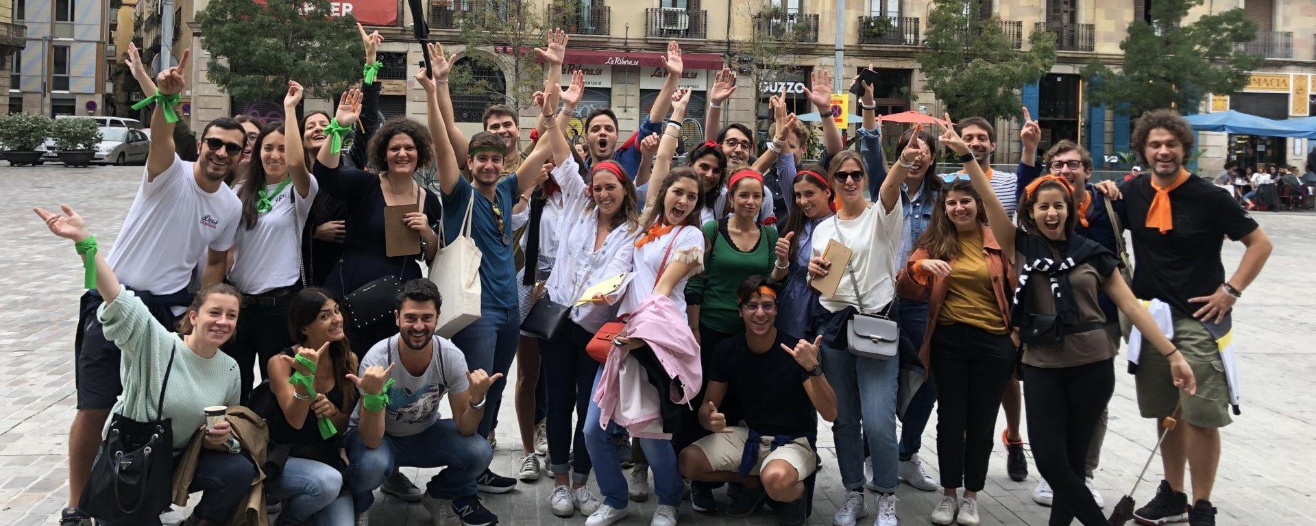 Treasure hunts Barcelona Xventura