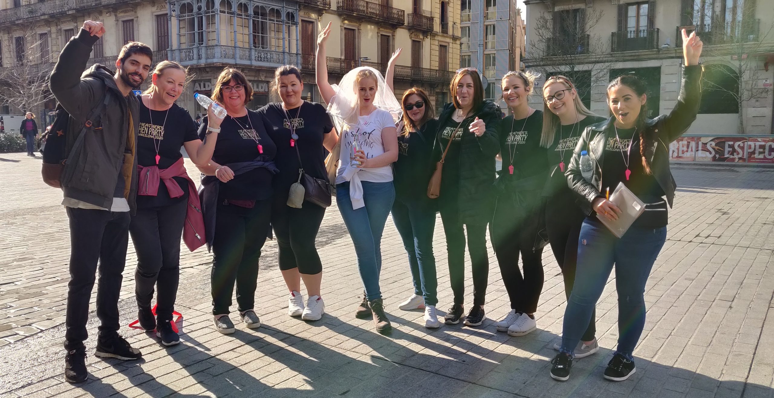 Bacheloretteparty in Barcelona